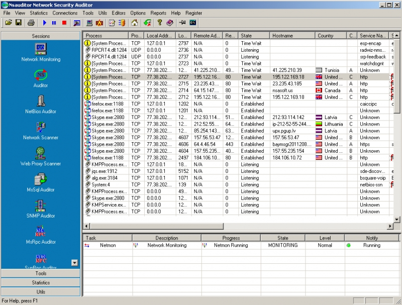 Nsauditor Network Security Auditor 2.9.7