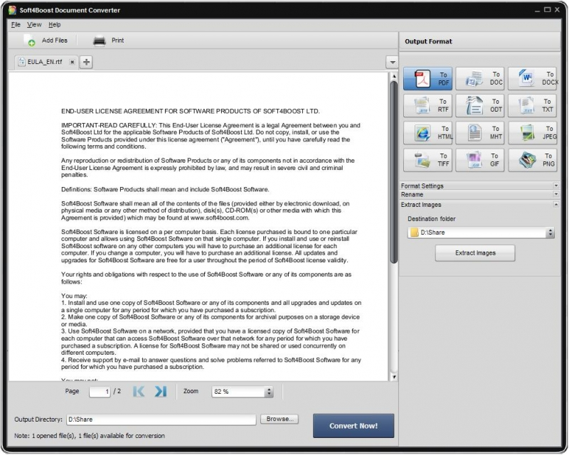 Soft4Boost Document Converter 5.0.7.647
