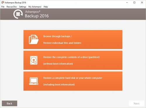 Ashampoo Backup 2016 10.08 Demo