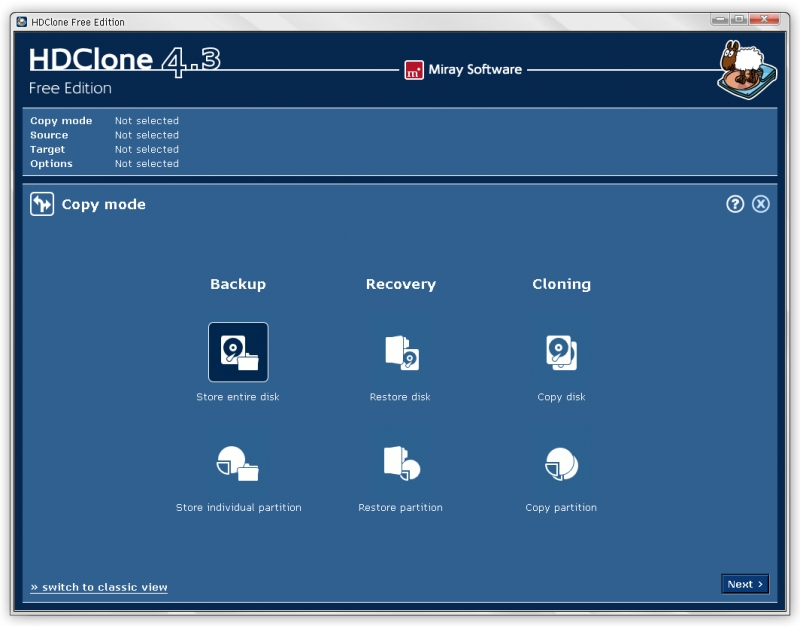 HDClone 6.0.5 Free Edition
