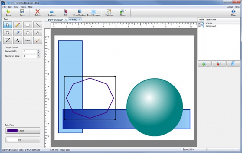 DrawPad Graphic Editor 2.38