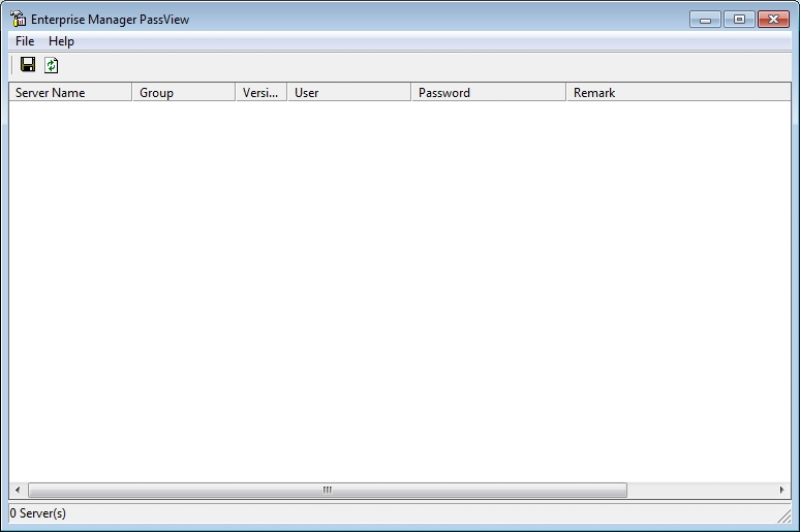 Enterprise Manager PassView 1.00