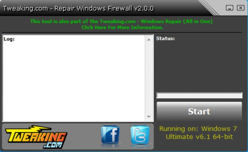 Repair Windows Firewall 2.8.8