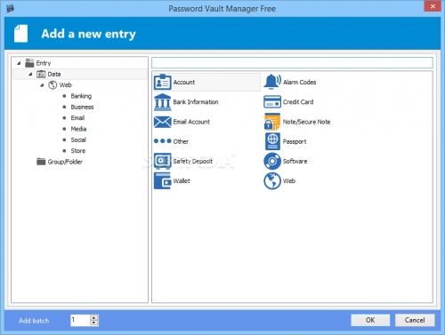 Password Vault Manager Free Edition 2.6.1.0