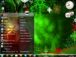 Dark7 XMas Theme for Windows 7
