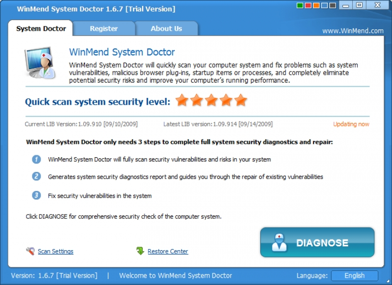 WinMend System Doctor 1.6.7