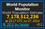 World Population Monitor 3.3