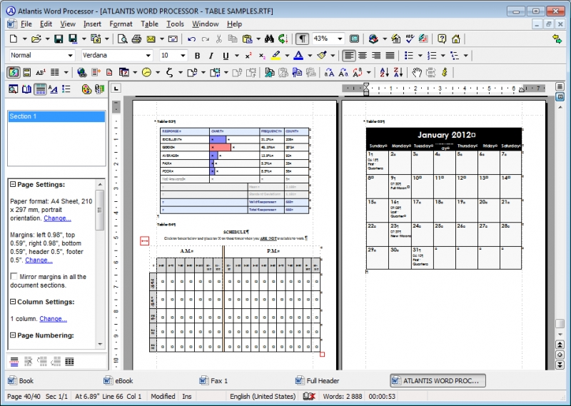 Atlantis Word Processor 3.2.2