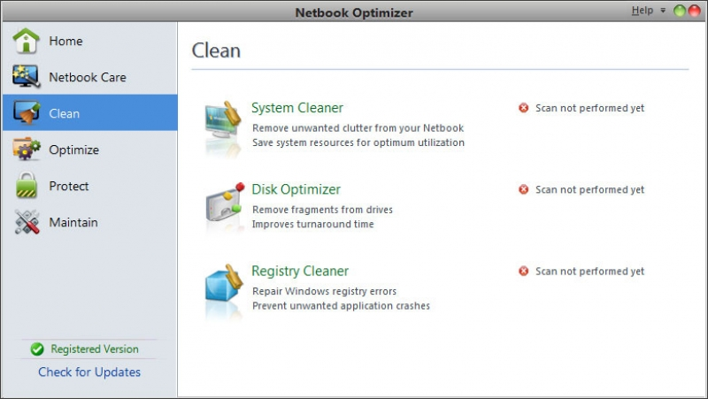 Netbook Optimizer 1.0