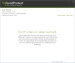 herdProtect Anti-Malware Scanner 1.0.3.9 Beta