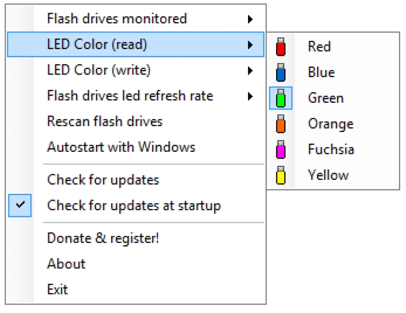 My Flash Drive LED 1.40
