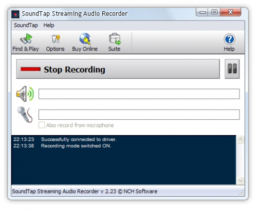 SoundTap Streaming Audio Recorder 3.00