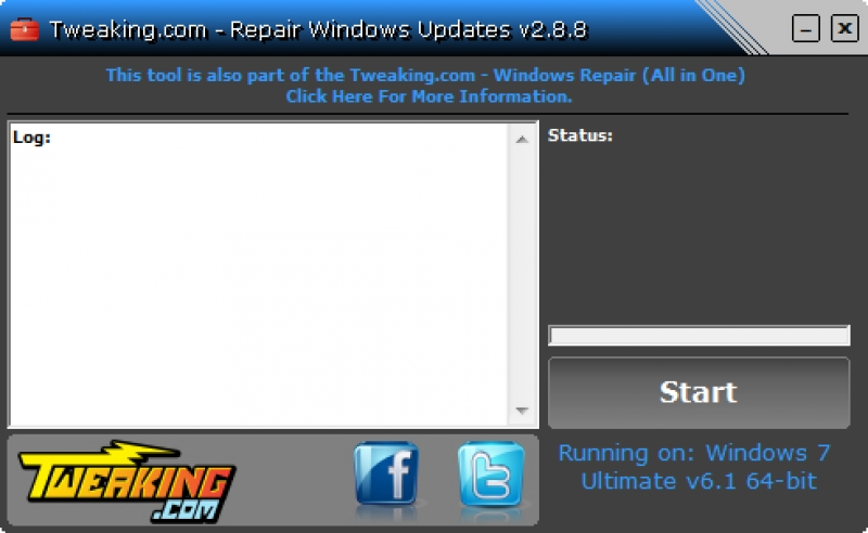 Repair Windows Updates 2.8.8
