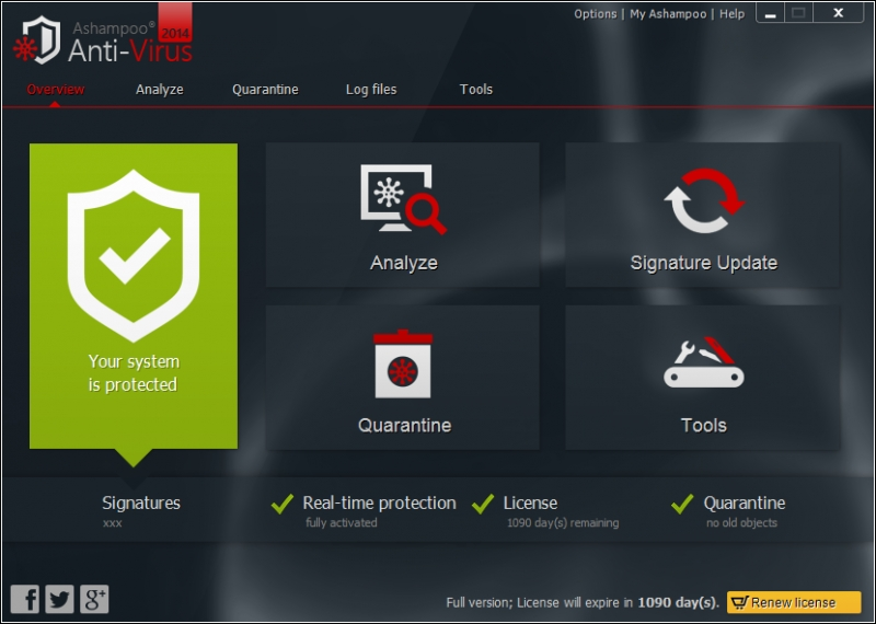 Ashampoo Anti-Virus 1.3.0