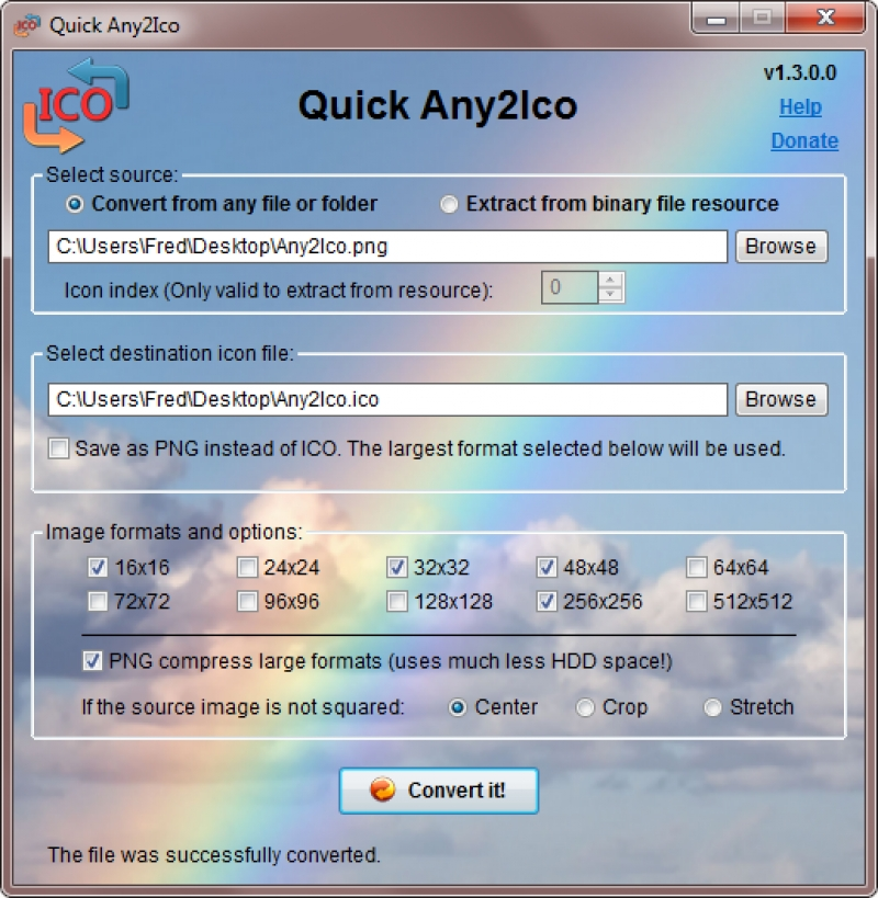 Quick Any2Ico 2.1.0.0